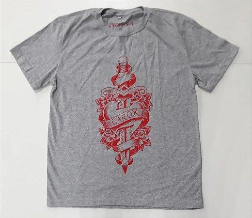 """Carox """"Adaga"""" Camiseta Cinza"""