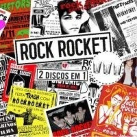 "Rock Rocket ""2 Discos em 1"" CD Duplo"