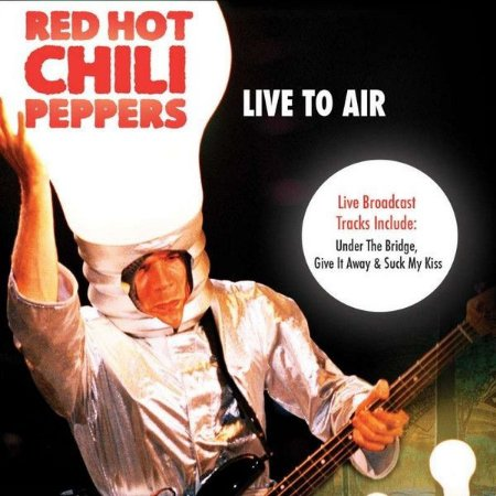 """Red Hot Chili Peppers """"Live to Air"""" CD"""