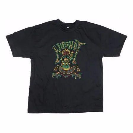 "Nipshot ""Womb"" Camiseta Preta"