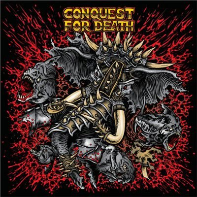 """Conquest For Death """"S/T"""" CD"""