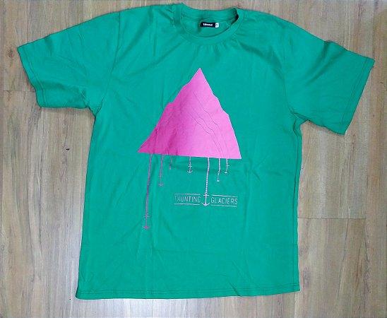 "Taunting Glaciers ""Geleira"" Camiseta Verde"