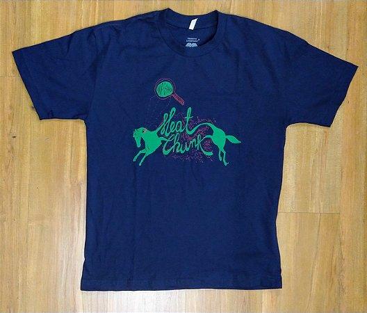 "Nipshot ""Meat Chunk"" Camiseta Azul"