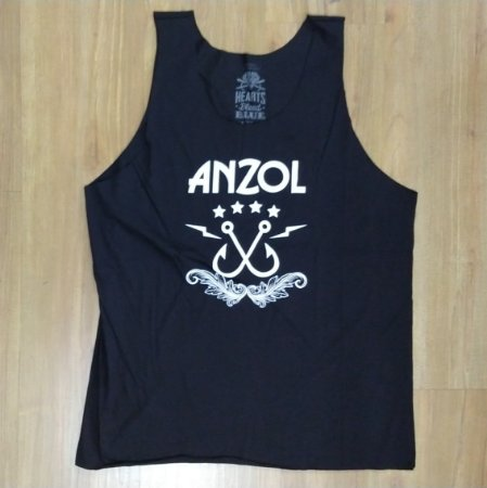 "Anzol ""Logo"" Regata Preta"