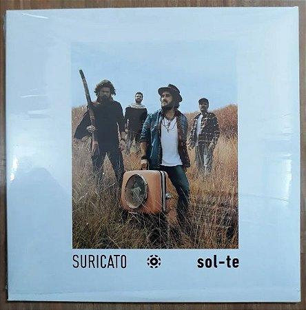 """Suricato """"Sol-Te"""" Vinil 12"""" Preto"""