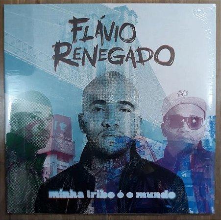 """Flávio Renegado """"Minha Tribo É O Mundo"""" Vinil 12"""" Preto"""