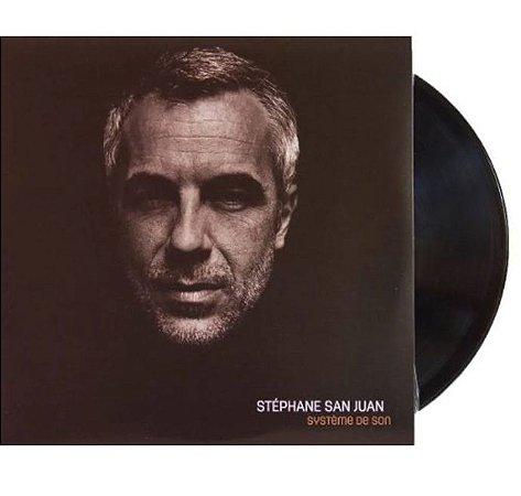 """Stéphane San Juan """"Système De Son"""" Vinil 12"""" Preto"""