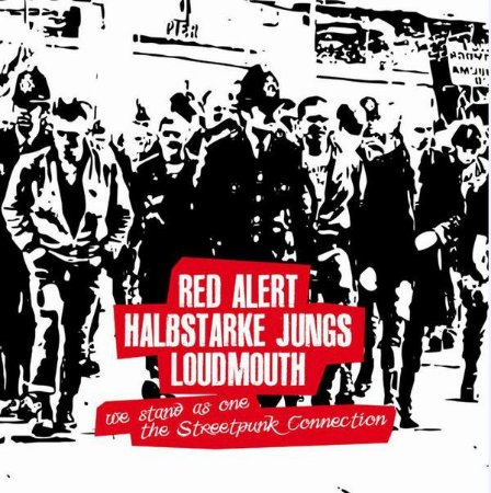 """V/A Red Alert, Loudmouth, Halbstarke Jungs """"We Stand As One"""" Vinil 10"""""""