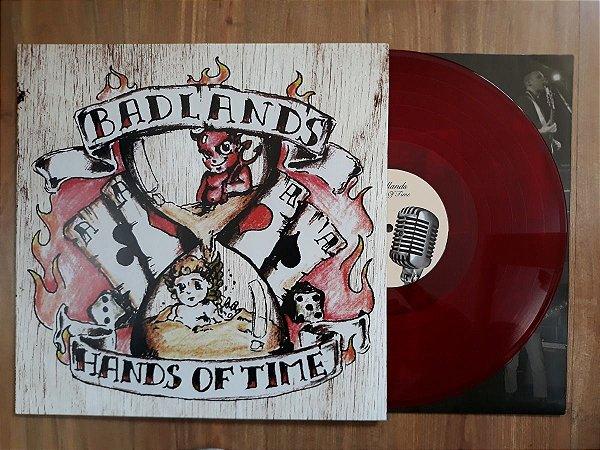 """Badlands """"Hands of Time"""" Vinil 12"""" Vermelho"""