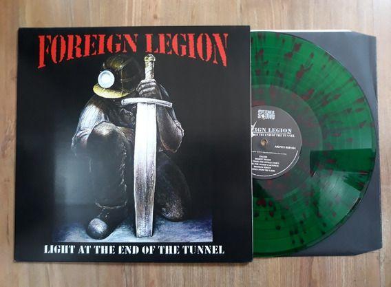"""Foreign Legion """"Light At The End Of The Tunnel"""" Vinil 12"""" Verde/Splatter"""
