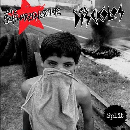 "Die Schwarzen Schafe / Los Disckolos Split Vinil 12"""