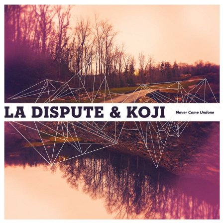 "La Dispute & Koji ""Never Come Undone"" Vinil 12"" Azul"