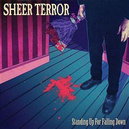 """Sheer Terror """"Standing Up For Falling Down"""" Vinil 12"""""""