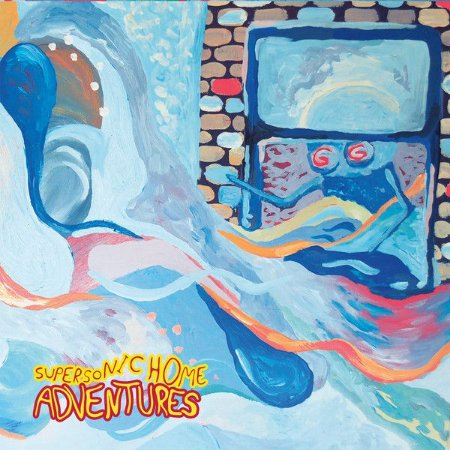 "Adventures ""Supersonic Home"" Vinil 12"""