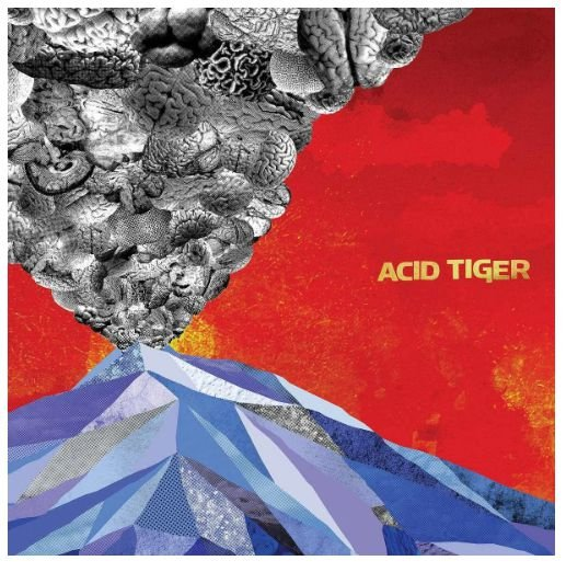"Acid Tiger ""S/T"" Vinil 12"""