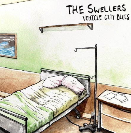 "The Swellers ""Vehicle City Blues"" Vinil 7"""