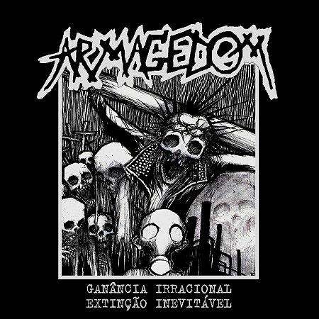 "Armagedom ""Ganancia Irracional Extinção Inevitável"" Vinil 7"" Preto"