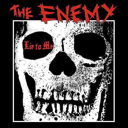 """The Enemy """"Lie To Me"""" Vinil 7"""" Preto"""