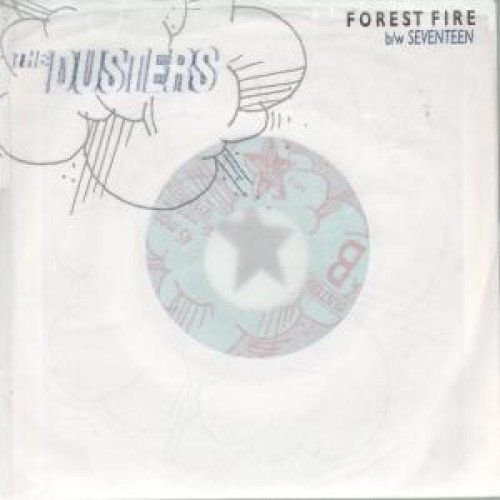 """The Dusters """"Forest Fire"""" Vinil 7"""" Transparente"""