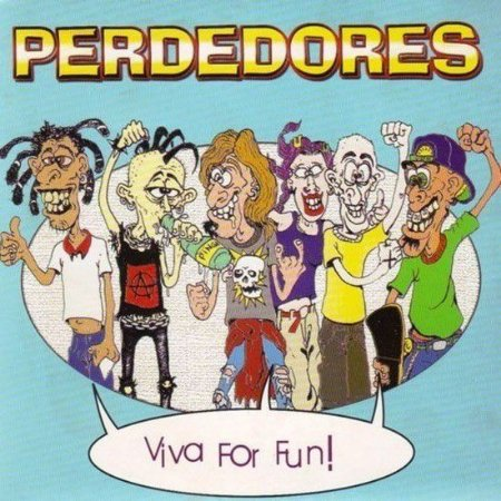 "Perdedores ""Viva For Fun"" Vinil 7"" Marrom"