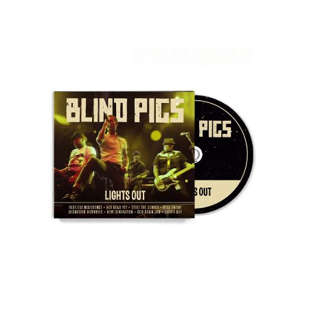 "Blind Pigs ""Lights Out"" CD Digifile"
