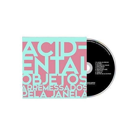 "Acidental ""Objetos Arremessados Pela Janela"" CD Digifile"