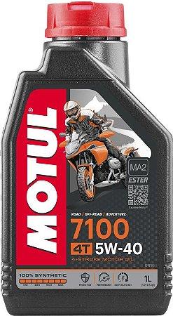 Óleo de Motor Motul 7100 5W40