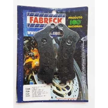 Pastilha de Freio Fabreck 739