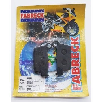 Pastilha de Freio Fabreck 729