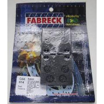 Pastilha de Freio Fabreck 614