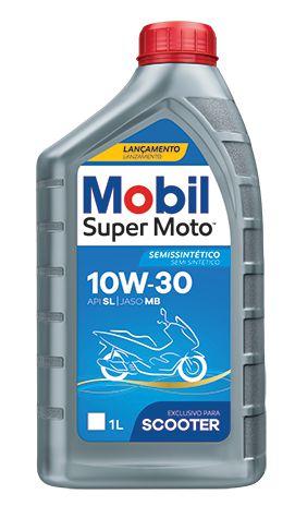 Óleo de Motor Mobil Super Moto MX 10W30 Scooter