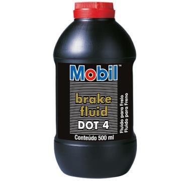 Fluido de Freio DOT 4 Mobil 500ml