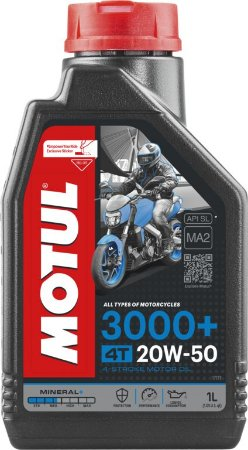 Óleo de Motor Motul 3000+ 20W50