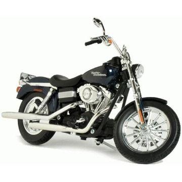 Miniatura Harley Davidson 2006 FXDBI Dyna Street Bob 1/12