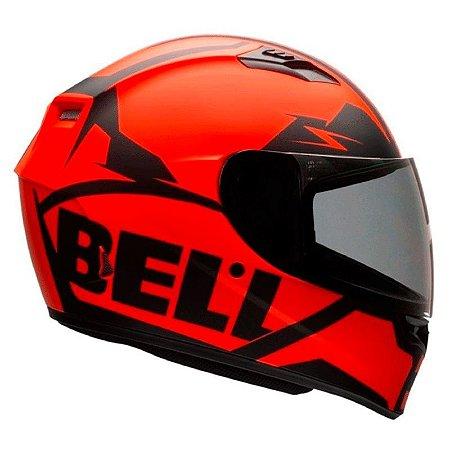 Capacete Bell Qualifier Snow Orange Black