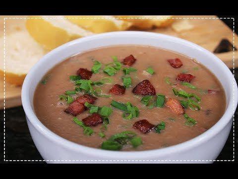 Sopa de Feijão com Bacon
