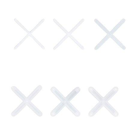 Espaçador de Piso (Cruzeta) - Flexível Transparente (100pçs)