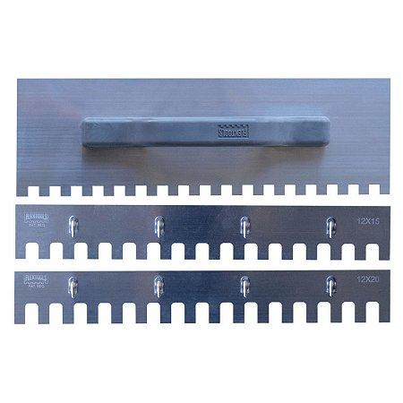 Kit Desempenadeira Dentada 3 em 1 - Flextools