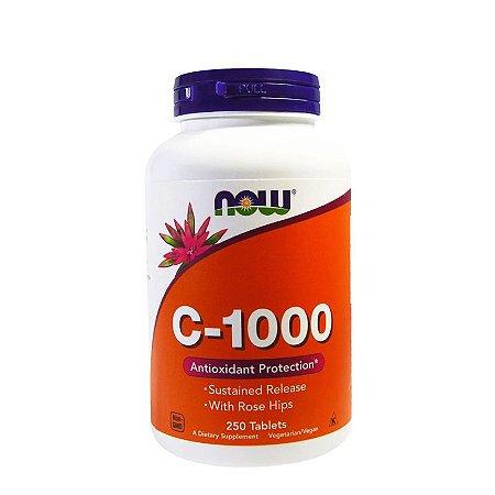Vitamina C - 1000mg - 250 Cápsulas - Now Foods