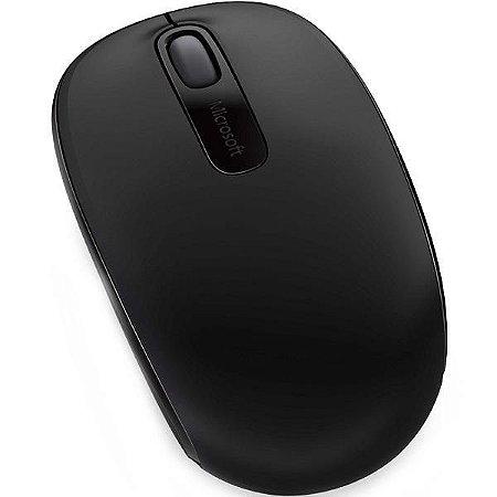 Mouse Sem Fio Óptico Microsoft - Wireless Mobile 1850 Preto