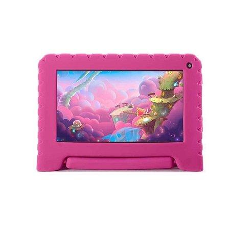 Tablet Multilaser Kid Pad Go NB303 Tela 7 Polegadas Quad Core 16GB Wi-Fi Câmera Frontal 1.3MP
