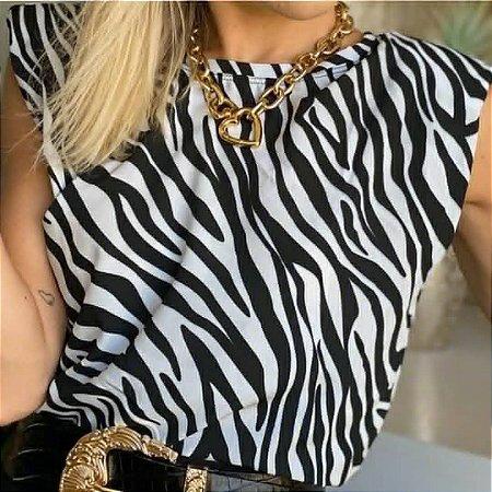 T-shirt Maria Maria Muscle Tee - gola redondo