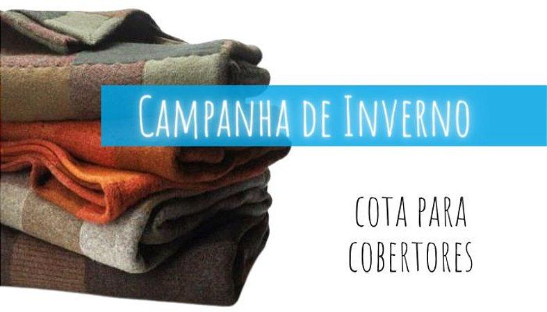 Cota para cobertor da Campanha de Inverno