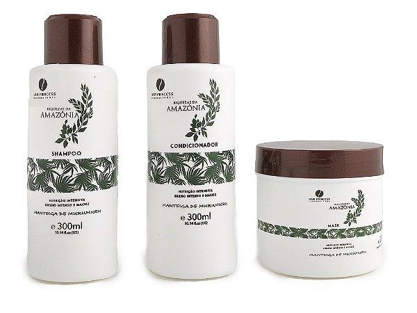 Manteiga de Murumuru Riquezas da Amazônia Hair Princess Kit Tratamento