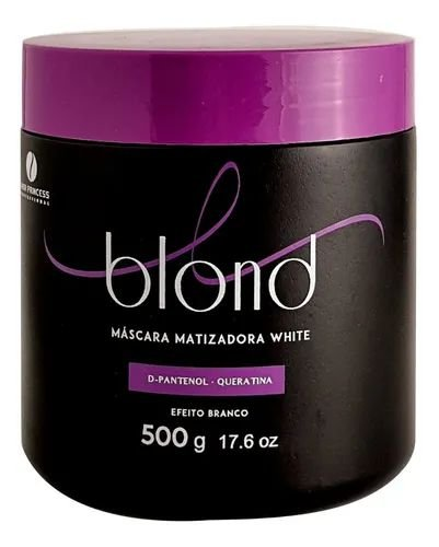 Máscara Matizadora White Blond Hair Princess 500g