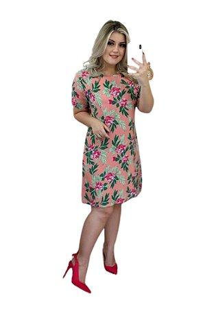 Vestido Chiara Rosa Floral