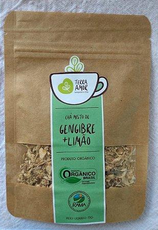 Chá gengibre e limão - 15g
