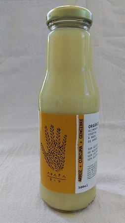 Bebida de arroz cúrcuma e gengibre - 300ml