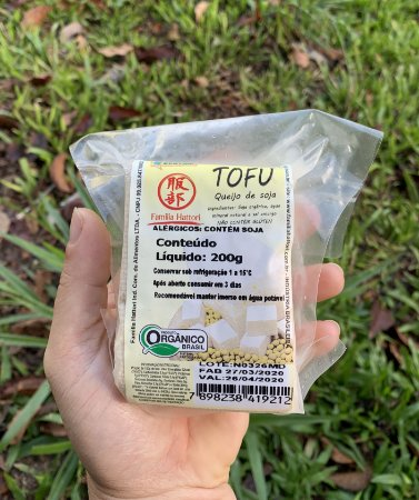 Tofu natural orgânico 200g