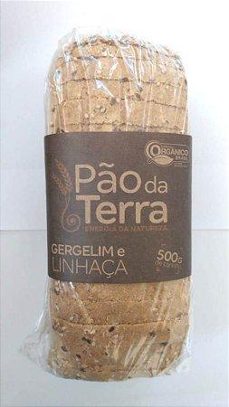 Pão integral com gergelim e linhaça - 500g